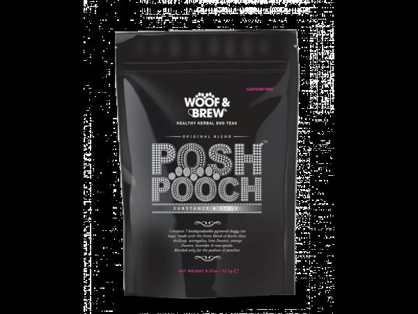 Woof & Brew Hondenthee Posh Pooch 10 x 7 theezakjes