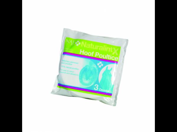 NAF NaturalintX Hoef Kompres Poultice 10 stuks