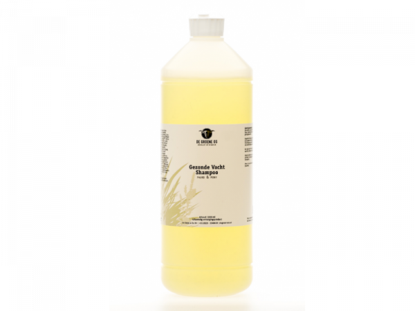 Gezonde Vacht Shampoo Paard Groene Os 1 liter