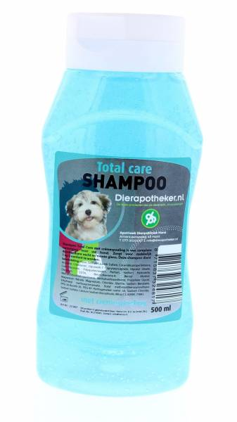 Shampoo Total Care Hond Dierapotheker.nl 500 ml