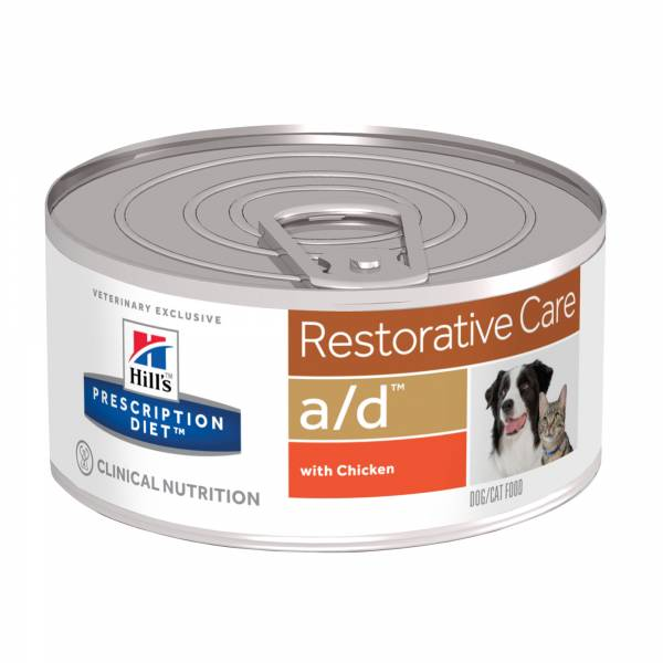 Hill's AD Restorative Care Canine Feline 156 gr 24 blikjes