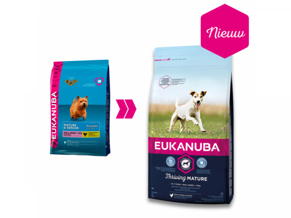 Eukanuba Dog Thriving Mature Small Breed 3 kg