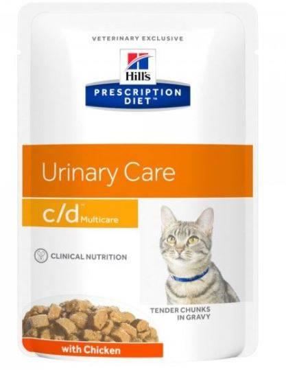 6 losse Hill's CD Urinary Care maaltijdzakjes