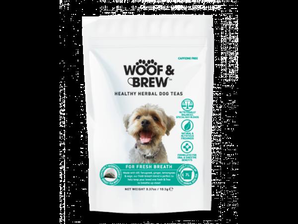 Woof & Brew Hondenthee Fresh Breath 10 x 7 theezakjes