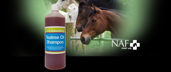 NAF Teatree Oil Shampoo Paard