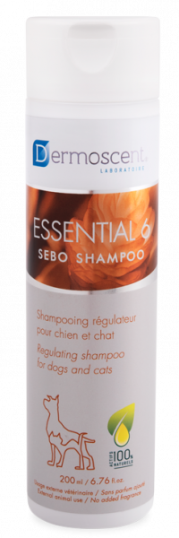 Dermoscent Essential 6 Sebo Shampoo Hond Kat 200 ml