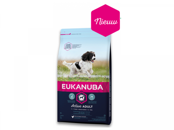 Eukanuba Dog Active Adult Medium