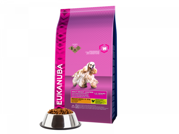 Eukanuba Dog Adult Weight Control Medium Breed