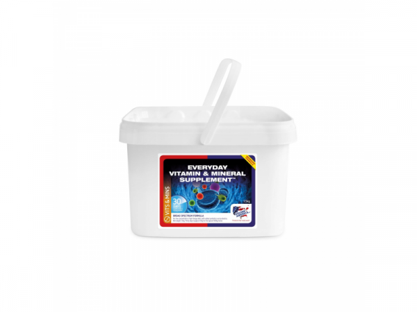 Everyday Vitamin Mineral Supplement Pellets Equine America 1.5 kg