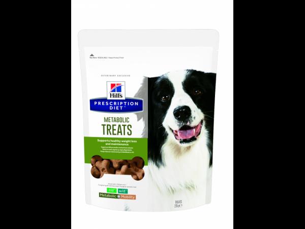 Hill's Prescription Diet Metabolic Hond Treats 12 x 220 gram