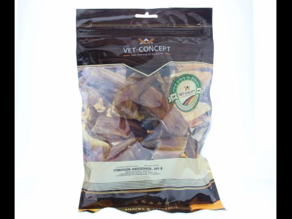 Vet-concept Struisvogelkniepezen Snack Hond 250 gram