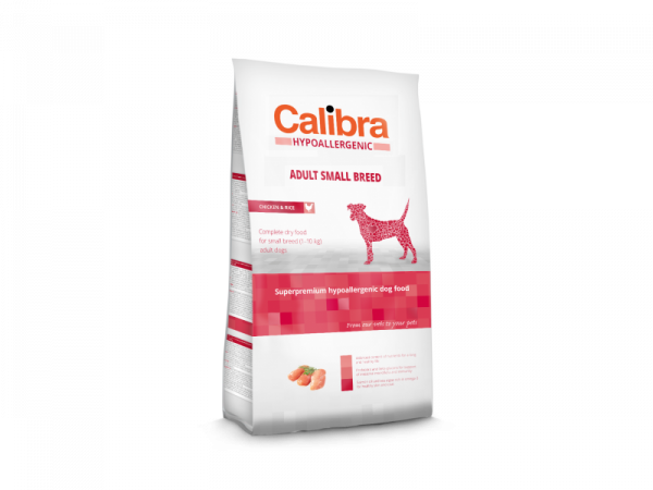 Calibra Dog Hypoallergenic Adult Small Breed Chicken & Rice