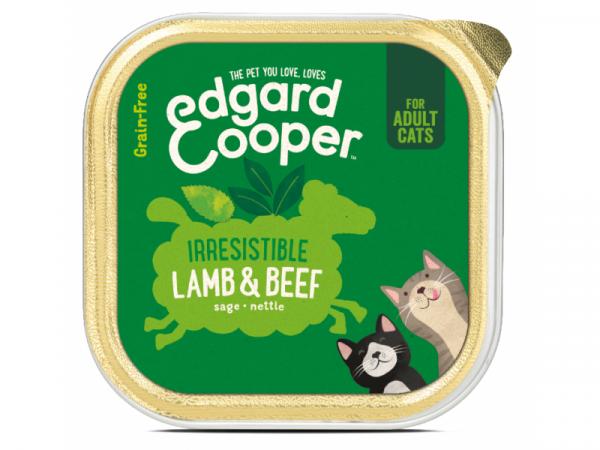 Edgard & Cooper Adult Kuipjes Lam en Rund 19 x 85 gram
