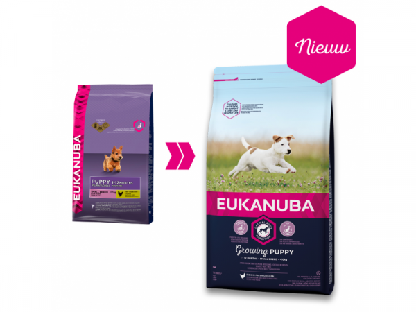 Eukanuba Growing Puppy Small Breed 3 kg