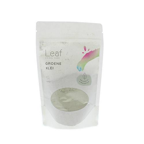 Leaf groene Klei Hond 150 gram