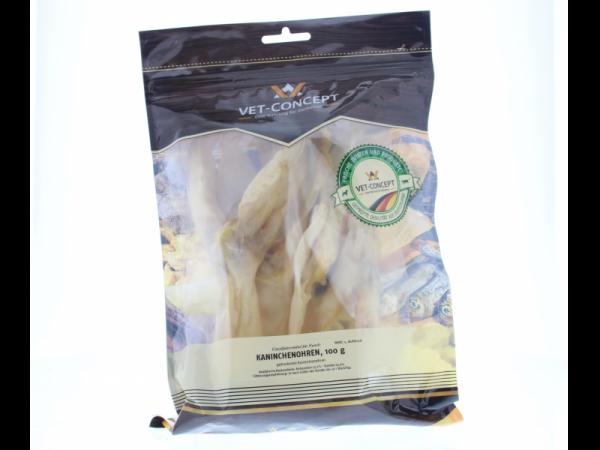 Vet-concept Konijnenoren Snack Hond 100 gram