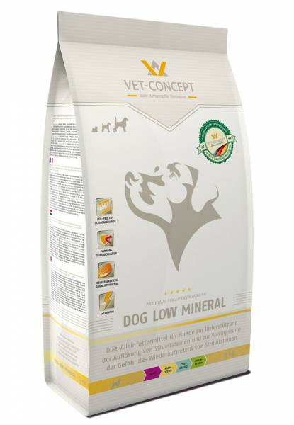 Vet-Concept Low Mineral Hond