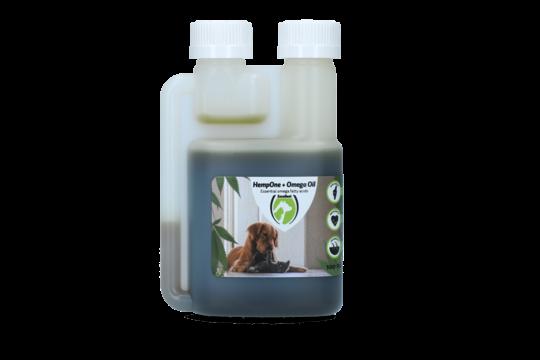 HempOne + Omega Oil Hond Kat
