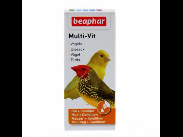 Beaphar Multi-Vit Vogels 20 ml