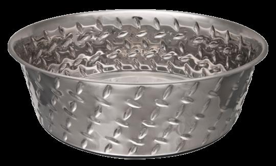 Voerbak Diamond Plated Bowl