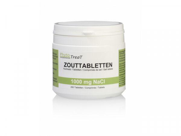Phytotreat Zouttabletten 1000 mg 250 Tabletten