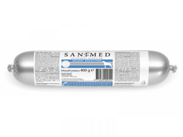 Sanimed Weight Reduction Hond Worst 5 x 400 gram