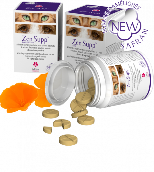 Zen Supp Miloa Rust Hond Kat Small Medium 30 tabletten