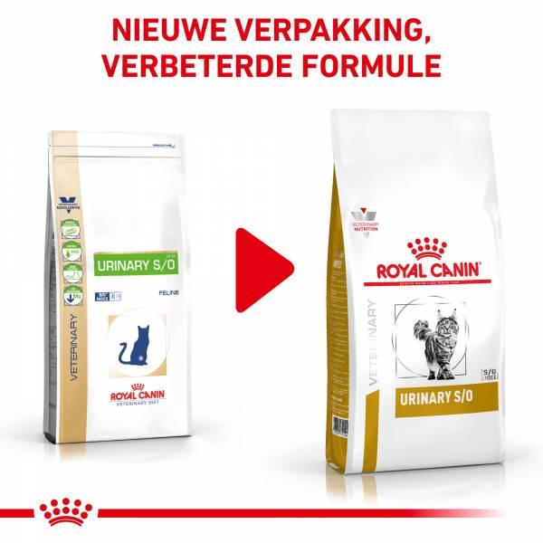 Royal Canin® Urinary S/O - Kattenvoer ter ondersteuning van de urinewegen van volwassen katten