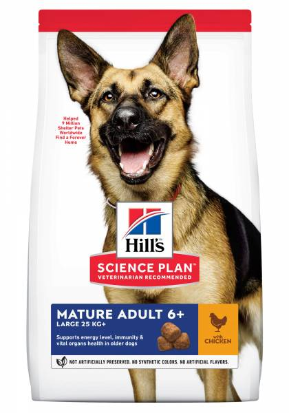 Hill's Science Plan Large Breed Mature Adult 6+ Hondenvoer