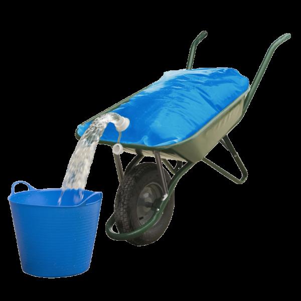 Waterzak Aquatrans voor kruiwagen 80 liter