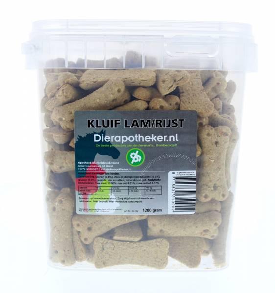 Kluif Lam Rijst Dierapotheker.nl 1200 gram