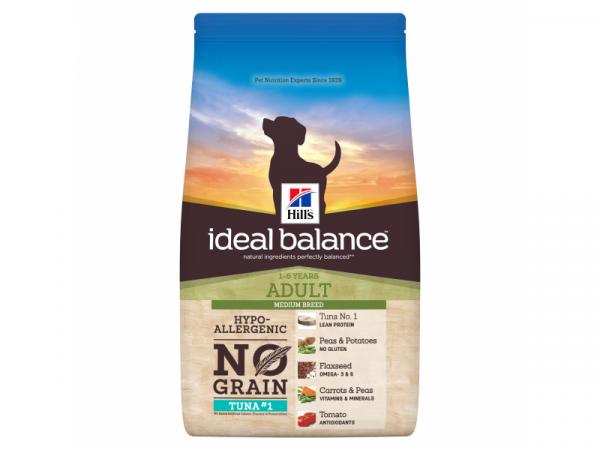 Hill's Ideal Balance No Grain Tonijn Canine Adult 12 kg
