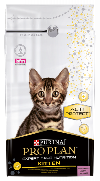 Purina Pro Plan Expert Care Cat Kitten Kattenvoer Turkey 1.5 kg