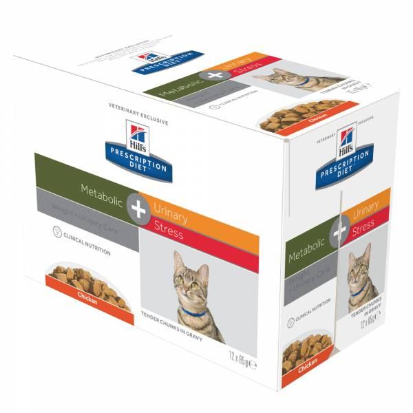 Hill's Feline Metabolic Plus Urinary Stress