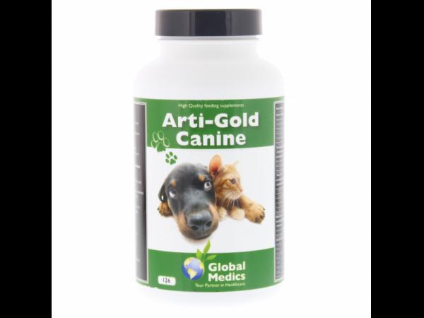 Arti Gold Canine Global Medics 126 tabletten
