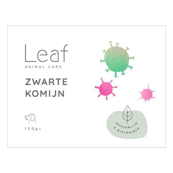 Leaf Zwarte Komijn Weerstand Hond 150 gram