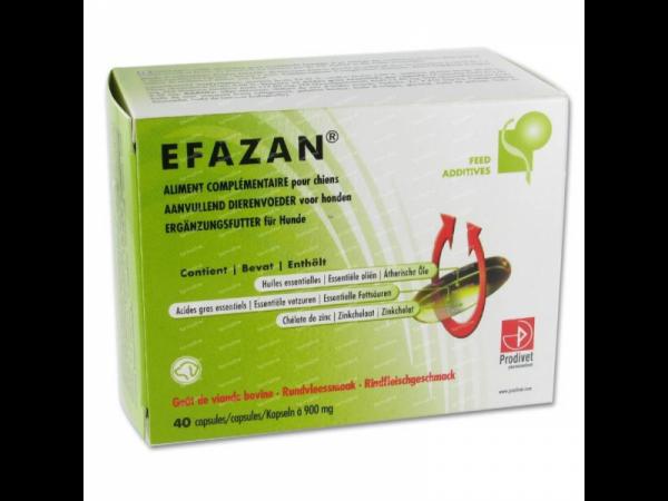 Efazan Oleocapsules Prodivet Huid Hond 45 stuks