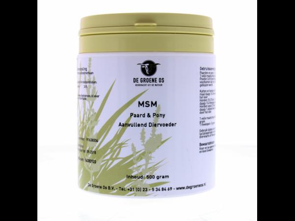MSM (Veterinair) Groene Os 500 gram