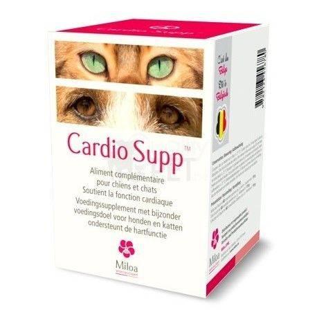 Cardio Supp Miloa Hart Hond Kat 60 tabletten