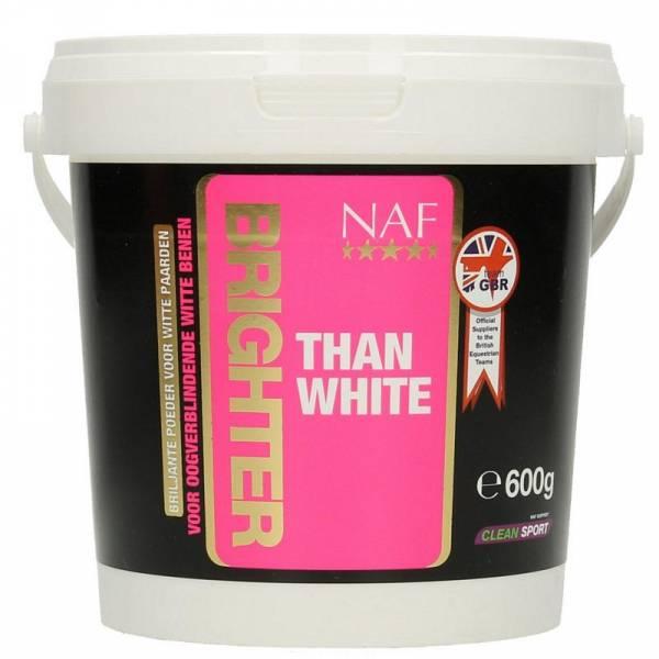 NAF Brighter Than White Witpasta Paard