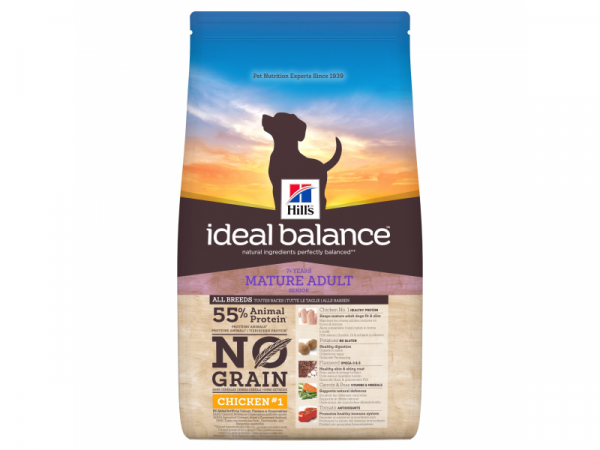 Hill's Ideal Balance No Grain Chicken Canine Mature Adult 12 kg