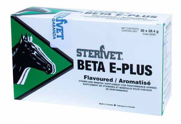 Sterivet Beta E Plus 30 x 28.4 gram