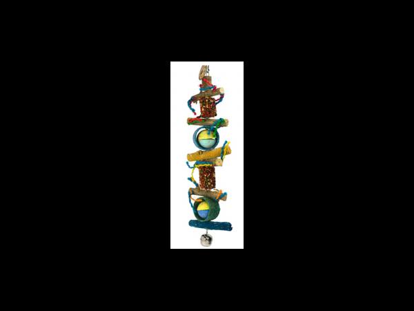 Birdeeez Jumbo Macaw Parrot Rope Toy 60 cm