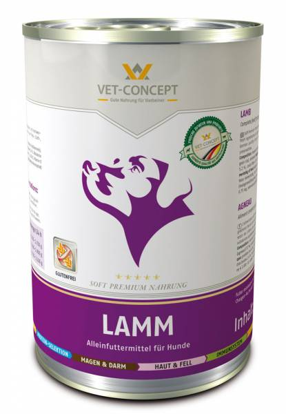 Vet-Concept Hondenmenu Lam