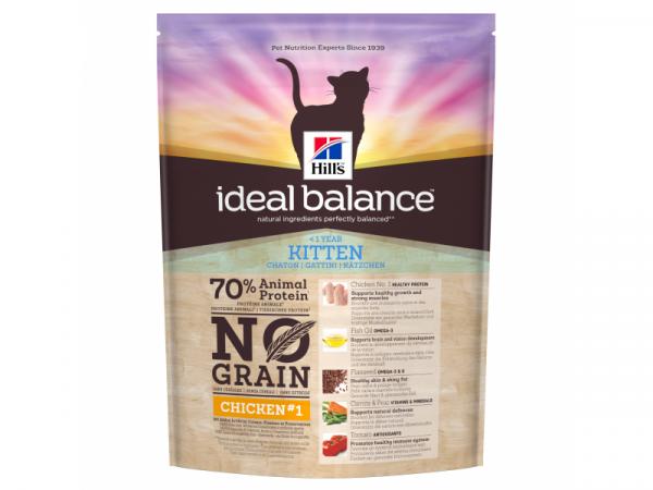 Hill's Ideal Balance Feline Kitten No Grain Chicken&Potato 12 x 300 gram
