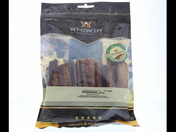 Vet-concept Runderpezen Snack Hond 200 gram
