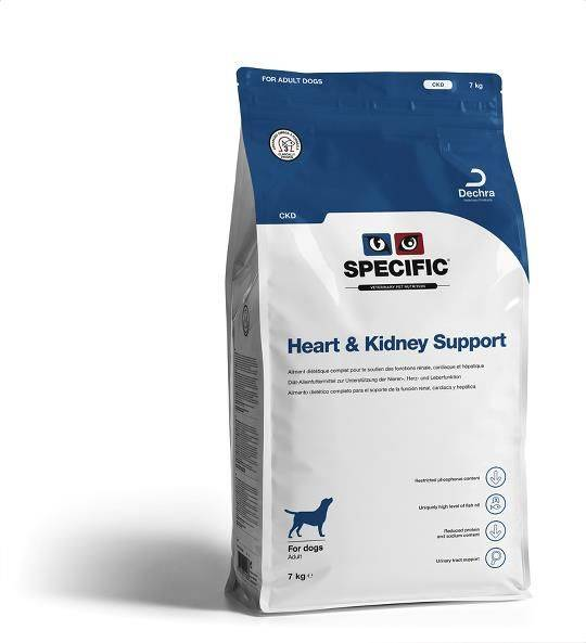 Specific CKD Heart en Kidney Support hond