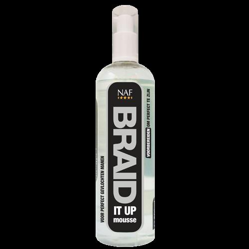 NAF Braid It Up Mousse Paard 500 ml