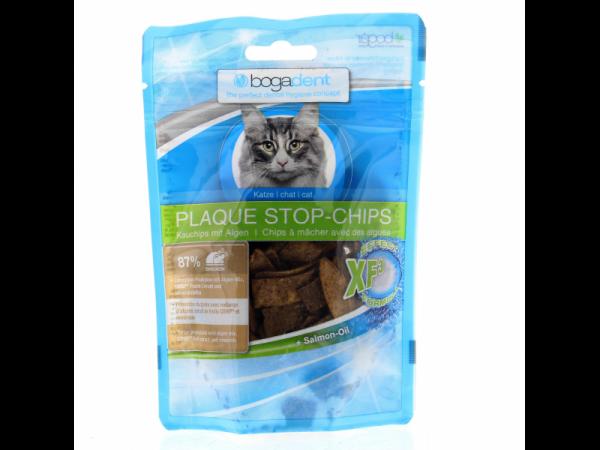 Bogadent Plaque Stop Chips Kat 50 gram