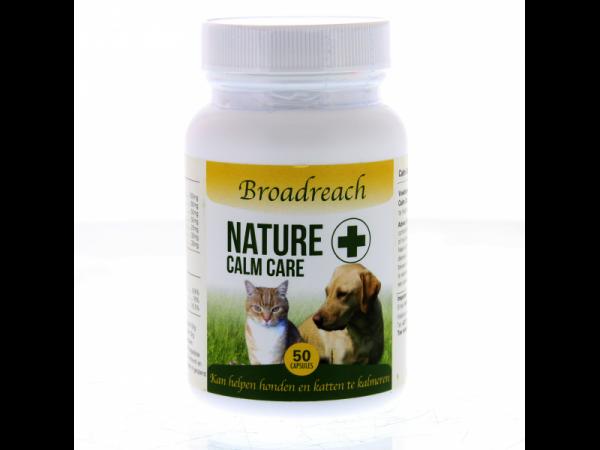 Broadreach Nature+ Calm Care Hond Kat Kalmering 50 capsules